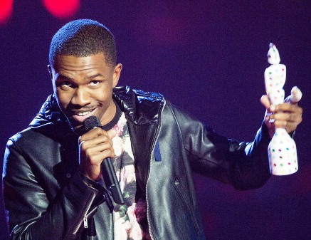 Frank Ocean at Brit Awards 2013