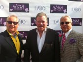 MARK AND MATTHEW HARRIS WITH WILLIAM SHATNER