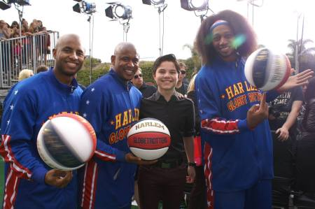 hall of game awards zach harlem globetrotters