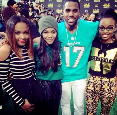 hall of game jason derulo and mcclain sisters