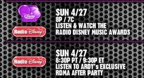 rdma tv schedule