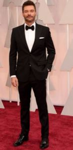 RYAN SEACREST LOOKING FABULOUS  AS USUAL AT THE 2015 OSCARS