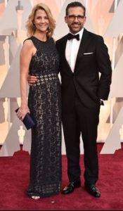 THE ALWAYS LOVEABLE STEVE AND NANCY CARRELL LOOKING STUNNING AT THE 2015 OSCARS