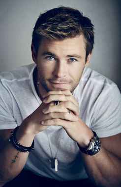 MARRIED BUT WHO CARES GIRLS, GREAT TO LOOK AT FOR VALENTINES DAY! CHRIS HEMSWORTH