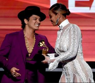 grammy beyonce and bruno mars who received record of the year