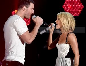grammy sam hunt and carrie underwood